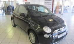 FIAT 500 1.2 2011 60 000 KM BLACK R 104 995.00 FINANCE