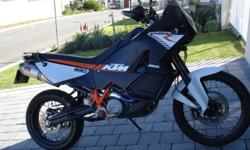 2011 KTM 990R. 17100 km's on the clock. Wings pipes,