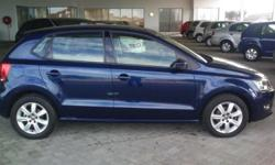 2011 Polo 1.6 (77kw) Comfortline Blue 45000km Cruise