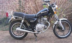 Suzuki GN 125 Road Bike 2011 Model (With Papers),