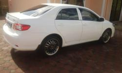 White Toyota Corrolla 2011, Lady Driver, one owner, 17""