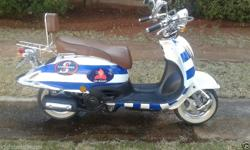 Have a 150cc big boy scooter 2012. It has the stormers