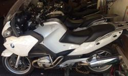 2012 BMW R1200RT ACCIDENT DAMAGED CONTACT NEIL