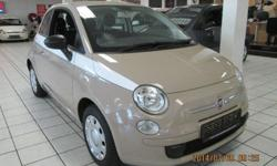 2012 FIAT 500 1.2 LOUNGE: Cloth interior Manual 5 speed