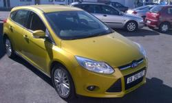 2012 Ford Focus 1.6Ti VCT Trend 5Dr Mustard Olive Only