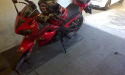 Gomoto zr red in colour