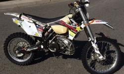 212hrs. Includes exhaust cage, bash plate, hand guards,