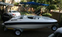 2012 Odyssey 1450 with canopy Water sport equipment