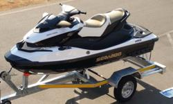 2012 Seadoo GTX S 155 Like New!! 16 hours On galvanised