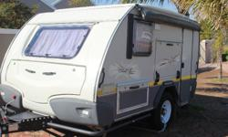 2012 Sprite Tourer SC off-road caravan. Only used on 3