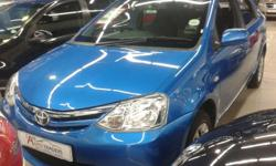 2012 TOYOTA ETIOS 1.5 XS BLUE   CD PLAYER ABS CENTRAL