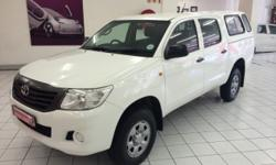 2012 TOYOTA HILUX 2.5 D4D SRX 4X4 DOUBLE CAB WITH