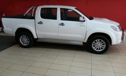 2012 Toyota Hilux 3.0 D/C 4x2:  Only 67 000km on the