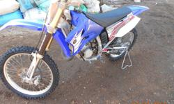 I have a YZ 125 2012 model. the motor has been