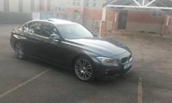 BMW 320 Msport. Mineral Grey with 19 inch Mags and