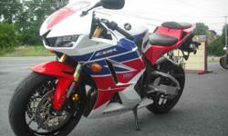 2013 Honda CBR 600rr? is known for its excellent