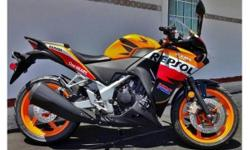 Honda CBR 250 R, Repsol , 2013 with 1600 km`s ,From
