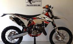 Ktm 125 EXC SIXDAYS. Genuine 2013 model, with papers.