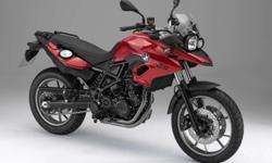 Brand New BMW F700GS - Red Apple Metallic Full Spec.