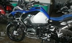 I HAVE ONE BMW R1200GS ADV LC AVAILABLE BLUE FIRE NEW