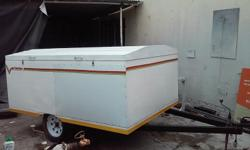 Venter Box Trailer New with papers and roadworthy.