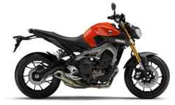 NEW YAMAHA MT 09 WE HAVE THE BLAZING ORANGE IN STOCK