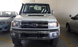 2015 Toyota Landcruiser 4.5 V8 Diesel Single cab 4X4