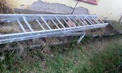 Double 10 foot ladder, in excellent condition. R1500