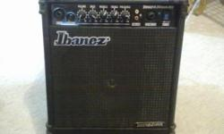 Beskrywing perfect condition ibanez amped known for