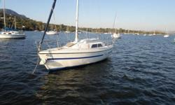 INCLUDES  5 berth - Sleeps 5 comfortably. 2 sails - One