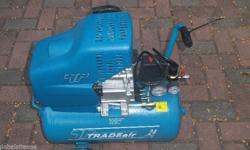 Brand new never used 24L TRADEair compressor with
