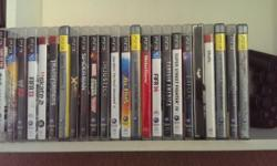 24 ps3 games for sale All still in very good condition