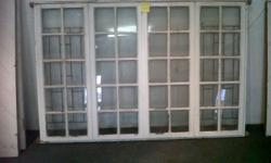 Window 2.2m x 1.5m R950. Meranti window. 600mm x 1.5m