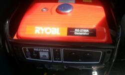 2.5kVA Ryobi generator for sale. Excellent condition.