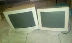 Hi I got 2 monitors in good condition both for R150. im