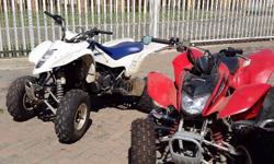 Price R60 000 for 2xQuads, Trailer and 2x Riding Gear