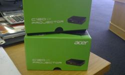 i have 2 brand new acer c120 LED projectors for sale.
