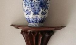 Stunning DELFT FLES ornaments purchased from Holland