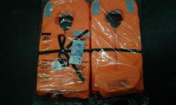 Hi i have 2 x new Samsa approved life jackets forsale