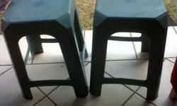 Have 2 small chairs for R50 and n big green plastic