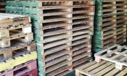 2nd hand pallets and Timber beams for sale