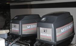 2x60hp mariners trim n  tilt auto lubes for sale.new