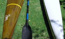 Beskrywing Soort: Kayaking 2x fibreglass K1 Kayaks for