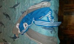 2x ladies original Adidas track pants for sale grey and