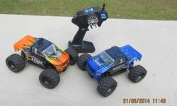 2x radio controlled cars in good working order, very