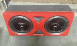 @x Sony Xploid sabwoofers plus speaker in perfect