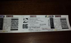 Two golden circle tickets for 30 Seconds to Mars show
