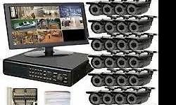 2 x 16 Channel DVR Recorder+ Remote+ Mouse 2 x 2TB Hard