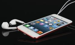 The thinnest iPod touch yet at .24-inches, the 5th