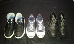 3 Pair of shoes for R450.Jack Purcell(8);Red